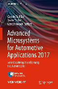 Cover-Bild zu Advanced Microsystems for Automotive Applications 2017 (eBook) von Müller, Beate (Hrsg.)