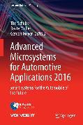 Cover-Bild zu Advanced Microsystems for Automotive Applications 2016 (eBook) von Schulze, Tim (Hrsg.)