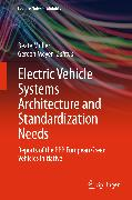 Cover-Bild zu Electric Vehicle Systems Architecture and Standardization Needs (eBook) von Müller, Beate (Hrsg.)