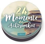 Cover-Bild zu 24 Momente der Achtsamkeit - Ein Adventskalender in der Dose mit 24 Anti-Stress-Kärtchen für den Advent