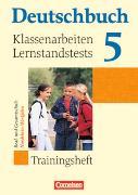 Cover-Bild zu Deutschbuch 5. Schuljahr. Klassenarbeiten, Lernstandtests. Trainingsheft. NW von Biermann, Günther