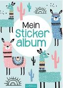 Cover-Bild zu Mein Stickeralbum - Lamas