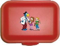 Cover-Bild zu Globi Lunchbox Spital rot