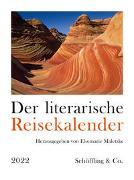 Cover-Bild zu Der literarische Reisekalender 2022 von Maletzke, Elsemarie (Hrsg.)