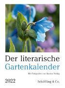 Cover-Bild zu Der literarische Gartenkalender 2022 von Bachstein, Julia (Hrsg.)