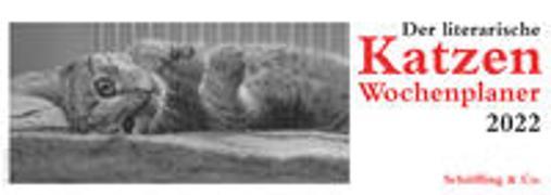 Cover-Bild zu Der literarische Katzen Wochenplaner 2022 von Bachstein, Julia (Hrsg.)