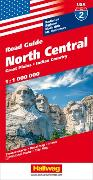 Cover-Bild zu North Central Strassenkarte 1:1 Mio, Road Guide Nr. 2. 1:1'000'000