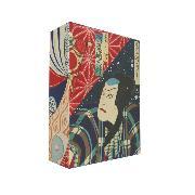 Cover-Bild zu Japanese Wood Blocks (ukiyo-e): 100 Postcards