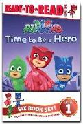 Cover-Bild zu Pj Masks Ready-To-Read Value Pack: Time to Be a Hero; Pj Masks Save the Library!; Owlette and the Giving Owl; Gekko Saves the City; Power Up, Pj Masks von Various