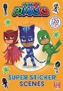 Cover-Bild zu PJ Masks: Super Sticker Scene Book von Pat-a-Cake