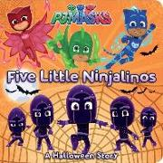 Cover-Bild zu Five Little Ninjalinos: A Halloween Story von Gallo, Tina (Hrsg.)
