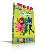 Cover-Bild zu Read with the Pj Masks!: Hero School; Owlette and the Giving Owl; Race to the Moon!; Pj Masks Save the Library!; Super Cat Speed!; Time to Be a von Various