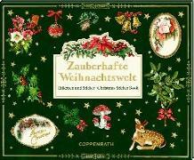 Cover-Bild zu Stickerbuch - Zauberhafte Weihnachtswelt - Etiketten und Sticker von Behr, Barbara (Gestaltet)