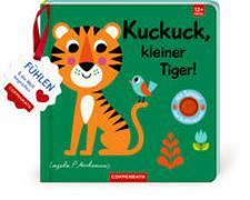 Cover-Bild zu Mein Filz-Fühlbuch: Kuckuck, kleiner Tiger! von Arrhenius, Ingela (Illustr.)
