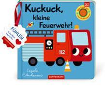 Cover-Bild zu Mein Filz-Fühlbuch: Kuckuck, kleine Feuerwehr! von Arrhenius, Ingela (Illustr.)