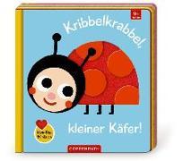 Cover-Bild zu Mein Filz-Fühlbuch: Kribbelkrabbel, kleiner Käfer! von Kawamura, Yayo (Illustr.)