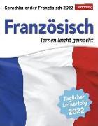 Cover-Bild zu Sprachkalender Französisch Kalender 2022 von Regler, Juliane