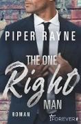 Cover-Bild zu The One Right Man (eBook) von Rayne, Piper