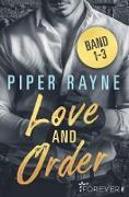 Cover-Bild zu Love and Order Band 1-3 (eBook) von Rayne, Piper