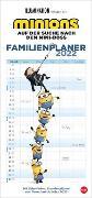 Cover-Bild zu Minions Familienplaner Kalender 2022 von Heye (Hrsg.)