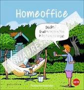Cover-Bild zu Homeoffice Postkartenkalender 2022 von Heye (Hrsg.)