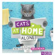 Cover-Bild zu Cats at home alone - Das Geschenkbuch für Katzenliebhaber von Bunte, Klaus