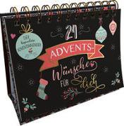 Cover-Bild zu 24 Adventswünsche für dich. Der besondere Adventskalender