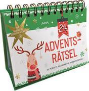 Cover-Bild zu 24 Adventsrätsel. Der besondere Adventskalender von Kiefer, Philip