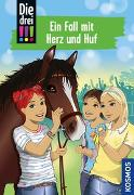 Cover-Bild zu Die drei !!!, 85, Ein Fall mit Herz und Huf von Vogel, Kirsten