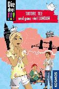 Cover-Bild zu Die drei !!!, Tatort, Tee und ganz viel London (drei Ausrufezeichen) (eBook) von Erlhoff, Kari