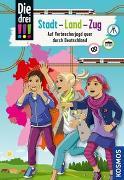 Cover-Bild zu Die drei !!!, Stadt - Land - Zug von Erlhoff, Kari