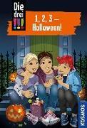 Cover-Bild zu Die drei !!!, 1, 2, 3 - Halloween! von von Vogel, Maja