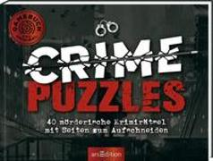 Cover-Bild zu Crime Puzzles. 30 mörderische Krimirätsel mit Seiten zum Aufschneiden von Vogt, M. Diane
