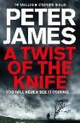 Cover-Bild zu A TWIST OF THE KNIFE von James, Peter