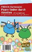 Cover-Bild zu FRESCH-Kartenspiel: Paare finden durch Ableiten von Zimmermann, Corinne