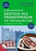 Cover-Bild zu PONS Power-Sprachkurs Deutsch als Fremdsprache für Fortgeschrittene