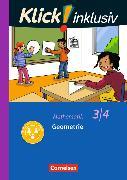 Cover-Bild zu Klick! inklusiv - Grundschule / Förderschule - Mathematik. 3./4. Schuljahr - Geometrie von Burkhart, Silke