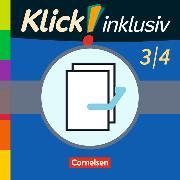Cover-Bild zu Klick! inklusiv - Grundschule / Förderschule - Mathematik. 3./4. Schuljahr - Themenhefte 7-12 im Paket von Burkhart, Silke