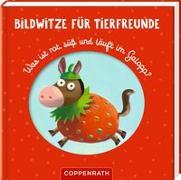 Cover-Bild zu Petersen, Caroline (Illustr.): Bildwitze für Tierfreunde