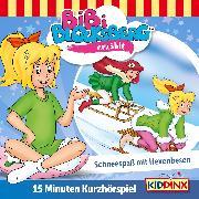 Cover-Bild zu Bibi Blocksberg Kurzhörspiel - Bibi erzählt: Schneespaß mit Hexenbesen (Audio Download) von Weigand, K.P.