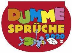 Cover-Bild zu Dumme Sprüche Kalender 2020