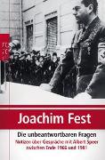 Cover-Bild zu Die unbeantwortbaren Fragen von Fest, Joachim