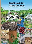 Cover-Bild zu Globi und die Tiere im Zoo von Lendenmann, Jürg
