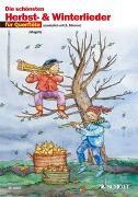 Cover-Bild zu Die schönsten Herbst- und Winterlieder von Magolt, Hans (Hrsg.)