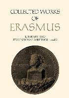 Cover-Bild zu Erasmus, Desiderius: Literary and Educational Writings 1 and 2, Volumes 23 and 24: Antibarbari / Parabolae and de Copia / de Ratione Studii