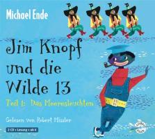 Cover-Bild zu Jim Knopf und die Wilde 13 Teil 1. Das Meeresleuchten von Ende, Michael
