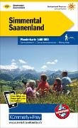 Cover-Bild zu Simmental, Saanenland Wanderkarte Nr. 17. 1:60'000 von Hallwag Kümmerly+Frey AG (Hrsg.)