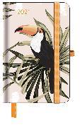 Cover-Bild zu GreenLine Diary Jungle 2021 - Buchkalender - Taschenkalender - 10x15