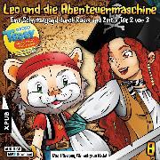 Cover-Bild zu eBook Leo und die Abenteuermaschine - Folge 8