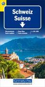 Cover-Bild zu Schweiz TCS 2019 Strassenkarte. 1:301'000